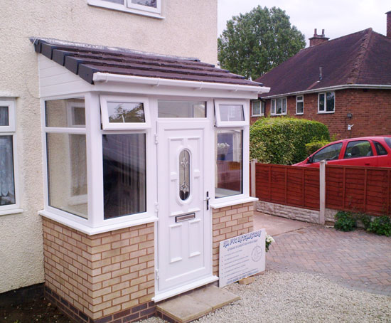 Porches PVC Birmingham